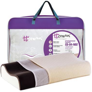Подушка двухслойная (карбоновый слой с ионами серебра) CO-04-NO.2(12/10)