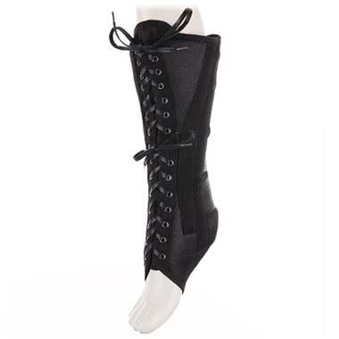 Бандаж на голеностопный сустав со шнуровкой и ребрами жесткости AS-ST/H